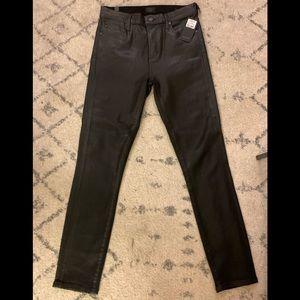 NWT Citizens of Humanity Rocket Leatherette Jeans